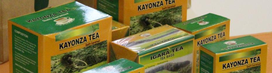 Kayonza, Igara branded Teas